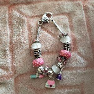 Glam Girl Charm Bracelet